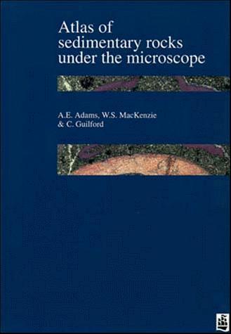 Atlas of sedimentary rocks under the microscope