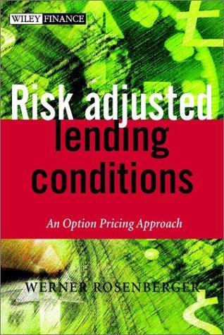 Risk-adjusted Lending Conditions