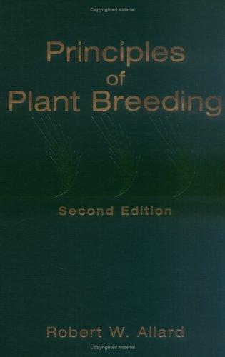 Download Principles of plant breeding