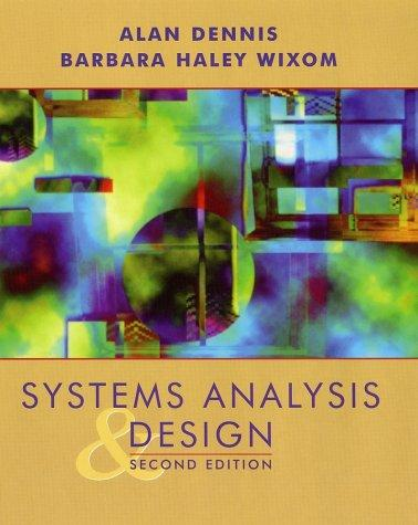 Download Systems analysis design