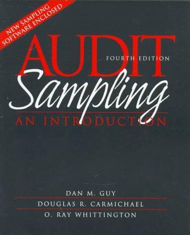 Download Audit sampling