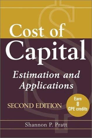 Download Cost of capital