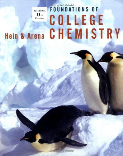 Foundations of college chemistry.