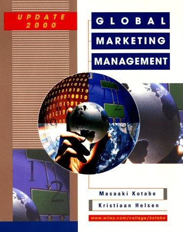 Download Global marketing management