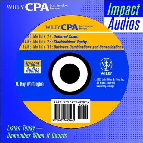 Download Wiley Cpa Examination Review Impact Audios