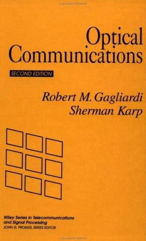 Download Optical communications