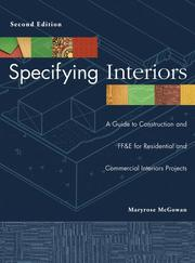 Specifying Interiors: A Guide To Construction And FF & E For Residential And Commercial Interiors Projects PDF Download