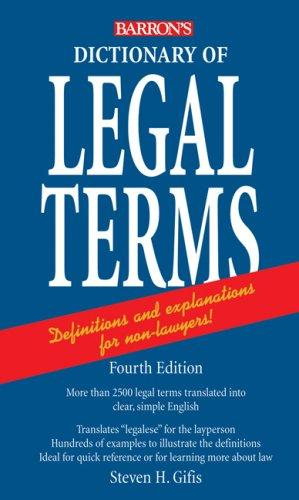 Download Dictionary of Legal Terms