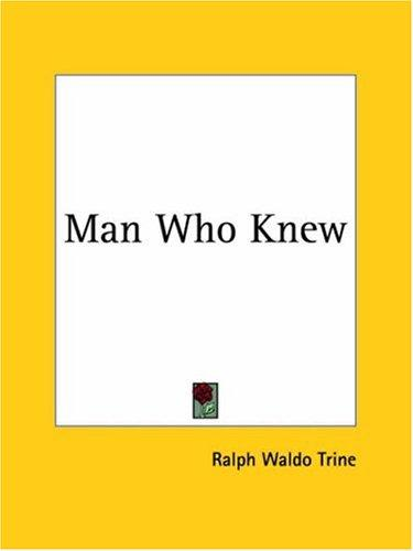 Download Man Who Knew