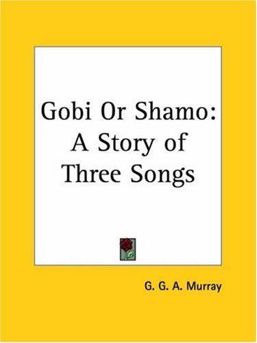 Gobi or Shamo