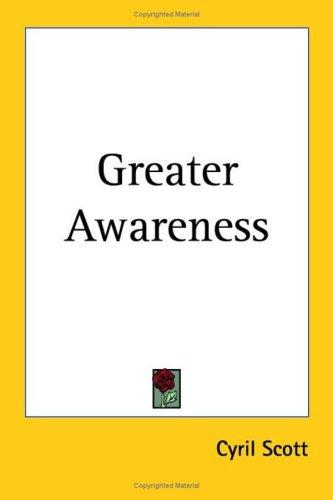 Download Greater Awareness