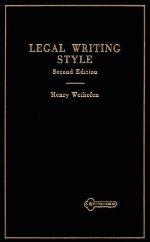Download Legal writing style