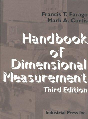 Handbook of dimensional measurement.