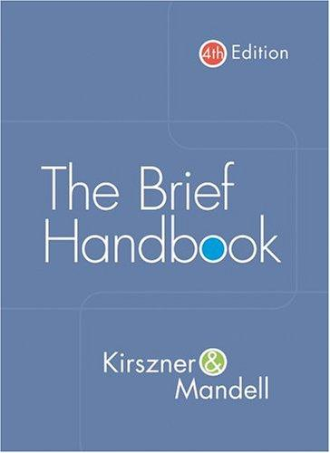 The brief handbook