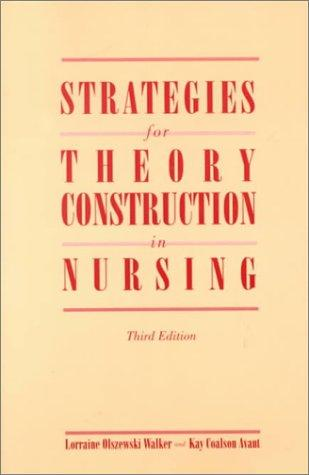 Download Strategies for theory construction in nursing