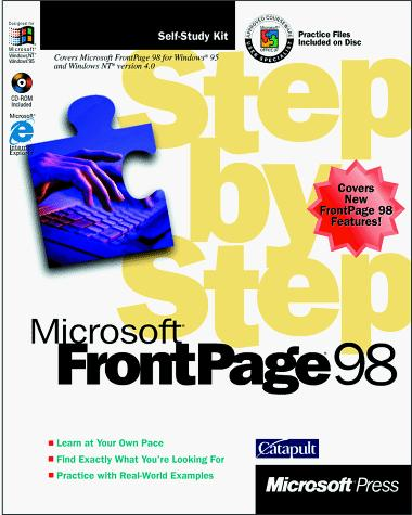 Microsoft FrontPage 98 step by step by Catapult, Inc