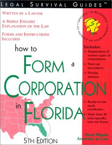 How to form a corporation in Florida