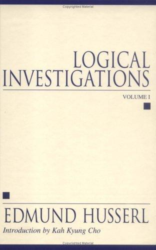 Download Logical investigations