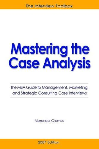 Download Mastering the Case Analysis