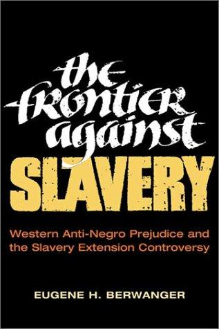 The frontier against slavery