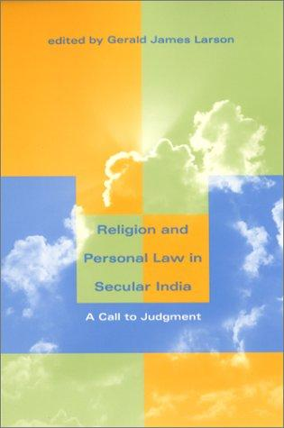 Download Religion and Personal Law in Secular India