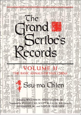 The Grand Scribe's Records: Volume 2 by Sima Qian