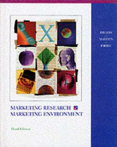 Download Marketing research in a marketing environment