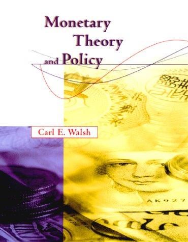 Download Monetary theory and policy