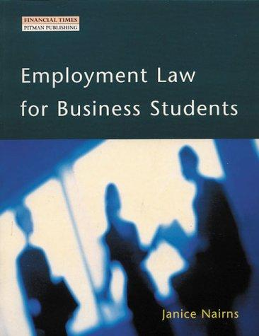 Download Employment Law for Business Students