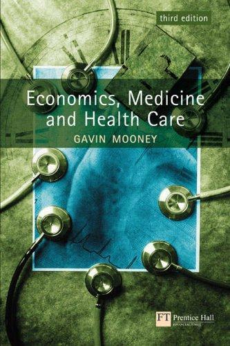 Download Economics, Medicine and Health Care