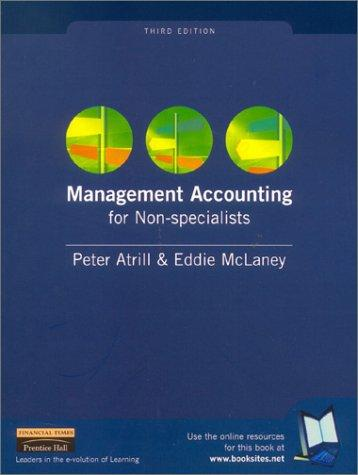 Download Management Accounting for Non-Specialists