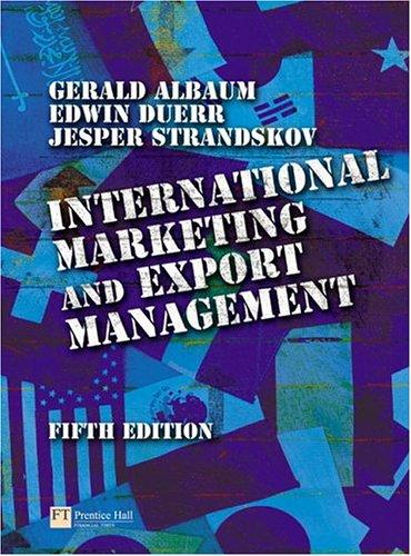 Download International marketing and export management