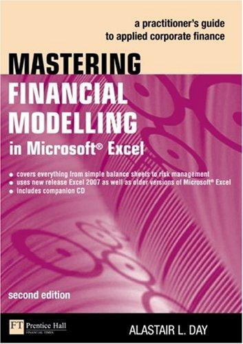 Download Mastering Financial Modelling in Microsoft Excel