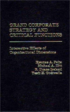 Download Grand Corporate Strategy and Critical Functions