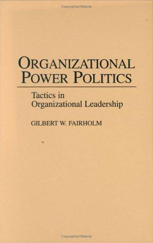 Download Organizational power politics