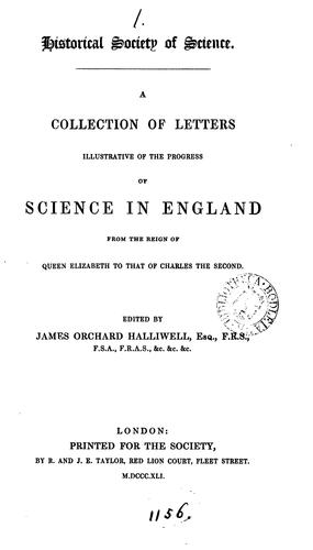 Download A collection of letters illustrative of the progress of science in England