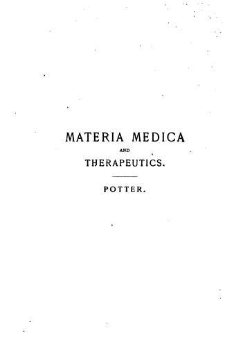 Download A compend of materia medica, therapeutics and prescription writing