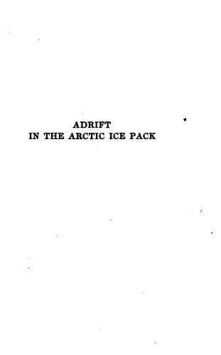 Download Adrift in the Arctic ice-pack.