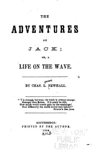 The adventures of Jack, or, A life on the wave