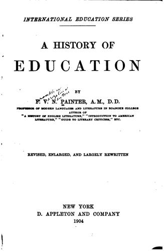 A history of education