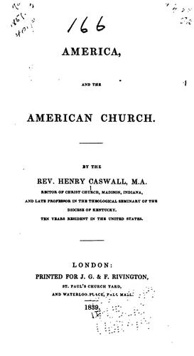 America and the American church