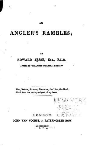 An angler's rambles