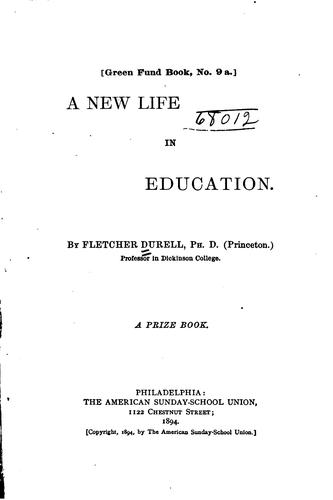 A new life in education.