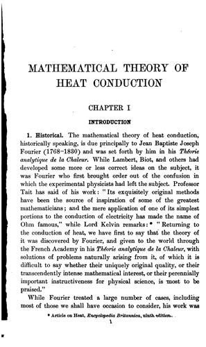 Download An introduction to the mathematical theory of heat conduction