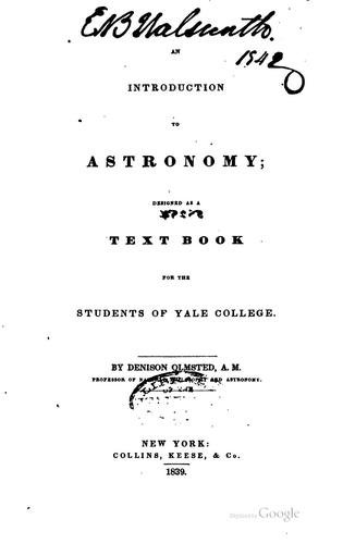 Download An introduction to astronomy