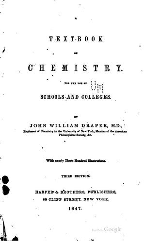 Download A text-book on chemistry.