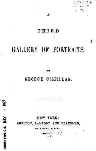 A third Gallery of portraits.
