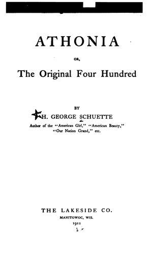 Athonia, or, The original four hundred
