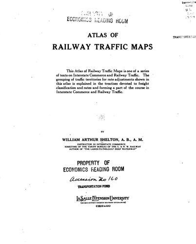 Atlas of railway traffic maps …