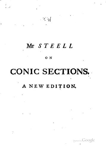 A treatise of conic sections …